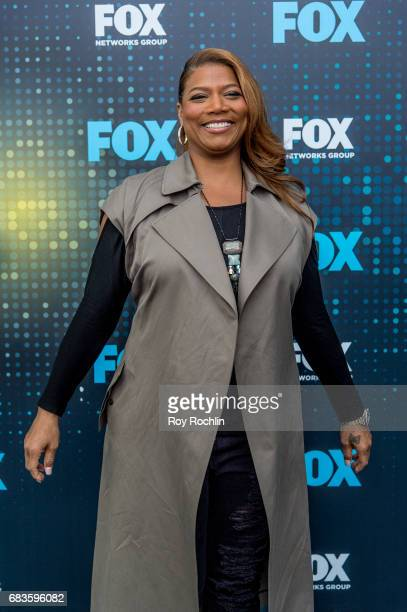 Queen Latifah attends the 2017 FOX Upfront at Wollman Rink Central Park on May 15 2017 in New York City