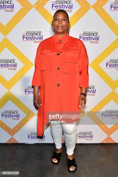 Queen Latifah attends the 2018 Essence Festival presented by CocaCola at Ernest N Morial Convention Center on July 6 2018 in New Orleans Louisiana