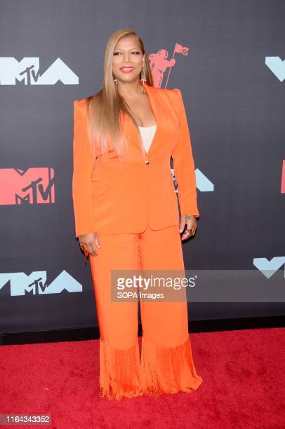 Queen Latifah attends the 2019 MTV Video Music Video Awards held at the Prudential Center in Newark, NJ.