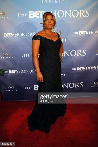 Queen Latifah attends the 2nd annual BET Honors at the Warner Theatre on January 17 2009 in Washington DC