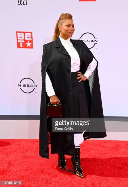 Queen Latifah attends the BET Awards 2021 at Microsoft Theater on June 27, 2021 in Los Angeles, California.