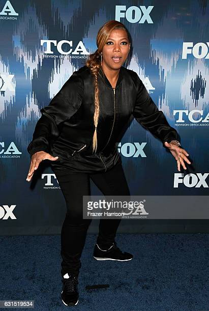 Queen Latifah attends the FOX AllStar Party during the 2017 Winter TCA Tour at Langham Hotel on January 11 2017 in Pasadena California