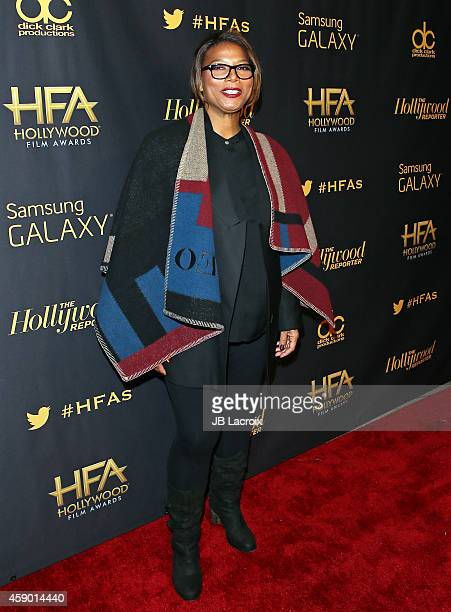 Queen Latifah attends the Hollywood Reporter's Official after party for The 2014 Hollywood Film Awards on November 14, 2014 in Century City,...