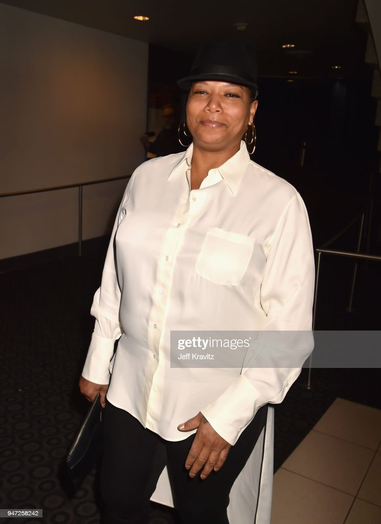Queen Latifah attends the Los Angeles Season 2 premiere of the HBO Drama Series WESTWORLD at The Cinerama Dome on April 16, 2018 in Los Angeles, California.