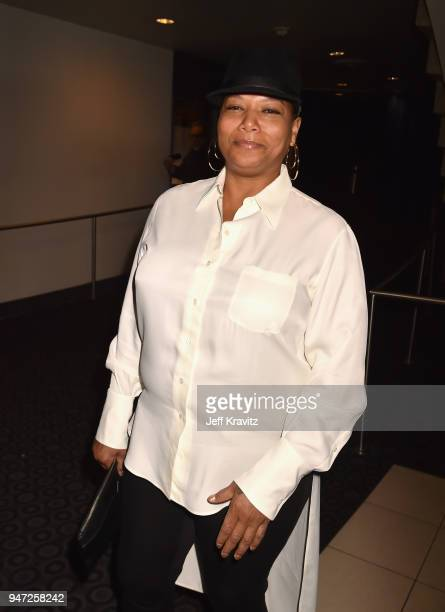 Queen Latifah attends the Los Angeles Season 2 premiere of the HBO Drama Series WESTWORLD at The Cinerama Dome on April 16 2018 in Los Angeles...