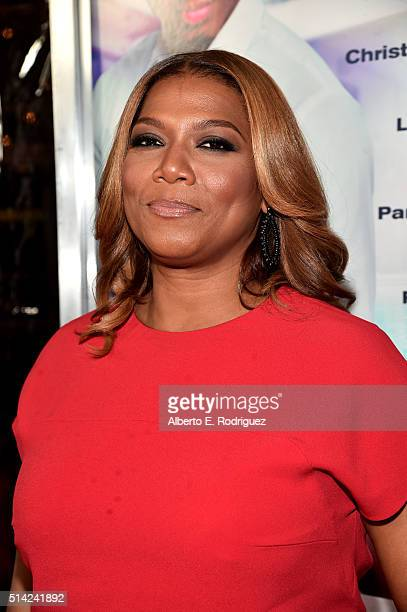 Queen Latifah attends the premiere of Lionsgate's 'The Perfect Match' at ArcLight Hollywood on March 7 2016 in Hollywood California