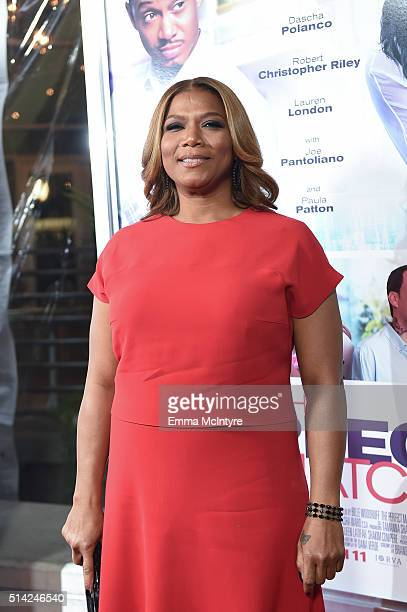 Queen Latifah attends the premiere of Lionsgate's 'The Perfect Match' at ArcLight Hollywood on March 7, 2016 in Hollywood, California.