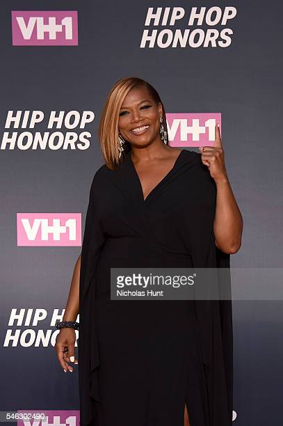 Queen Latifah attends the VH1 Hip Hop Honors All Hail The Queens at David Geffen Hall on July 11 2016 in New York City
