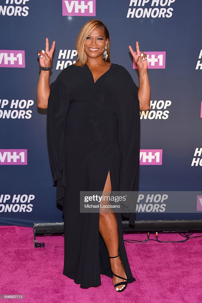 Queen Latifah attends the VH1 Hip Hop Honors: All Hail The Queens at David Geffen Hall on July 11, 2016 in New York City.
