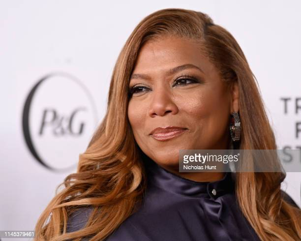 Queen Latifah attends Tribeca Talks and the Premiere of The Queen Collective Shorts - 2019 Tribeca Film Festival at Spring Studio on April 26, 2019...