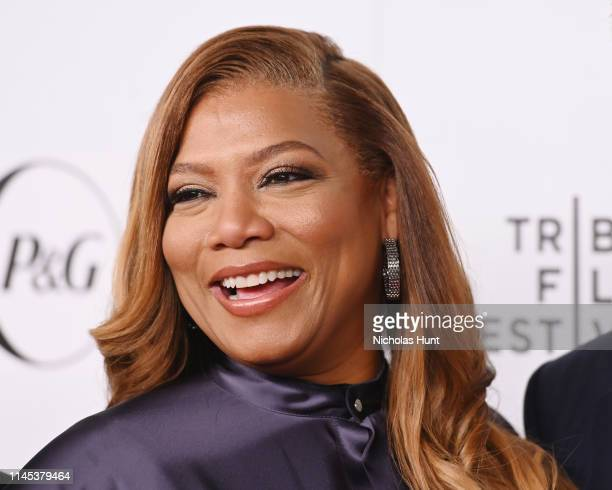 Queen Latifah attends Tribeca Talks and the Premiere of The Queen Collective Shorts 2019 Tribeca Film Festival at Spring Studio on April 26 2019 in...
