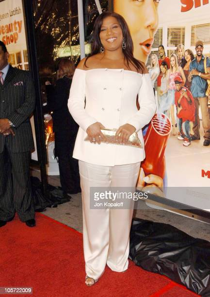 Queen Latifah during Beauty Shop World Premiere at Grauman's Chinese Theatre in Hollywood California United States