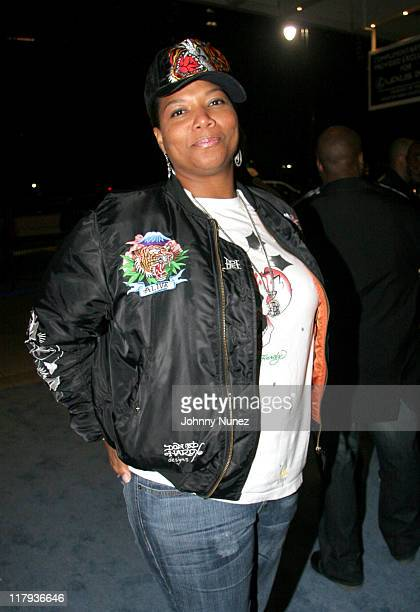 Queen Latifah during Crown Royal Presents Kenny Smith's All-Star Weekend Party - February 18, 2006 at Hobby Center in Houston, Texas, United States.