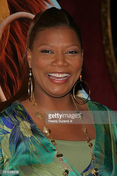 """Queen Latifah during """"Ice Age 2: The Meltdown"""" New York screening - Inside Arrivals at Ziegfeld Theater in New York, NY, United States."""