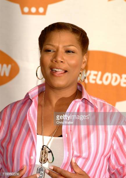 Queen Latifah during Nickelodeon's 17th Annual Kids' Choice Awards - Press Room at Pauley Pavillion in Westood, California, United States.