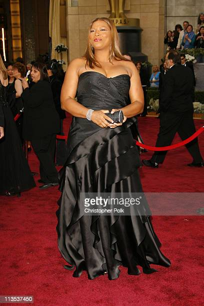 Queen Latifah during The 78th Annual Academy Awards – Arrivals at Kodak Theatre in Hollywood California United States