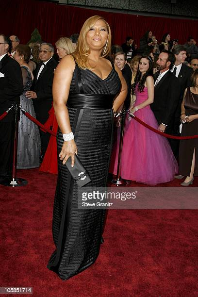 Queen Latifah during The 79th Annual Academy Awards Arrivals at Kodak Theatre in Los Angeles California United States