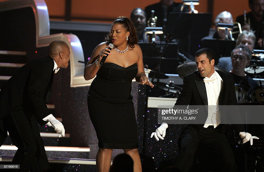 Queen Latifah performance  during the 47 : News Photo