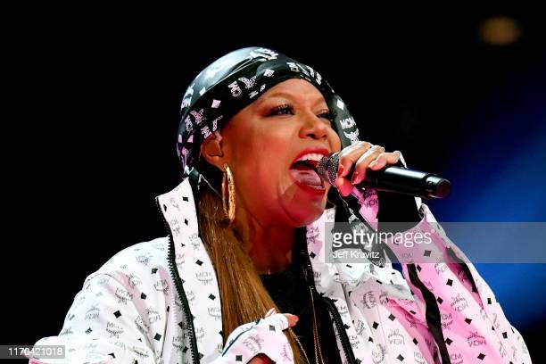 Queen Latifah performs onstage during the 2019 MTV Video Music Awards at Prudential Center on August 26 2019 in Newark New Jersey