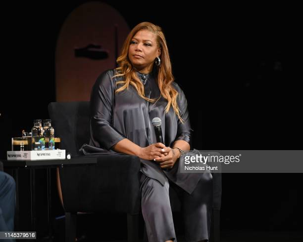 Queen Latifah Speaks at the Tribeca Talks - Premiere of The Queen Collective Shorts - 2019 Tribeca Film Festival at Spring Studio on April 26, 2019...