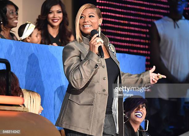 Queen Latifah speaks during the VH1 Hip Hop Honors All Hail The Queens at David Geffen Hall on July 11 2016 in New York City