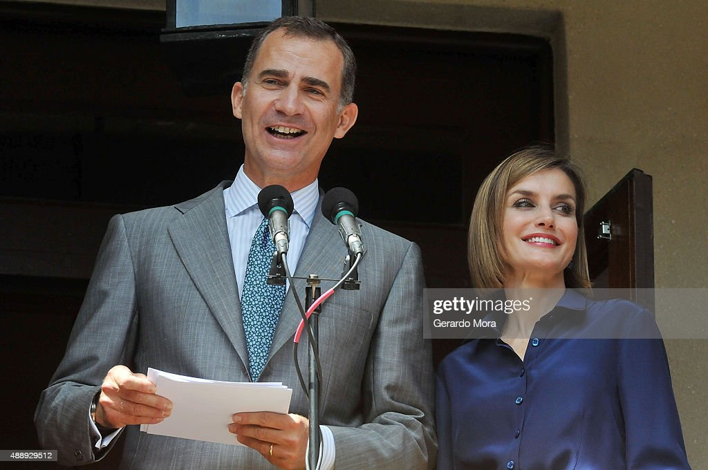 The King And Queen Of Spain Visit St Augustine : News Photo