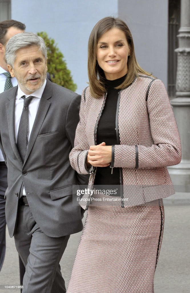 Queen Letizia Attends 30th Anniversary of The Incoming Of The Women Into The Civil Guard