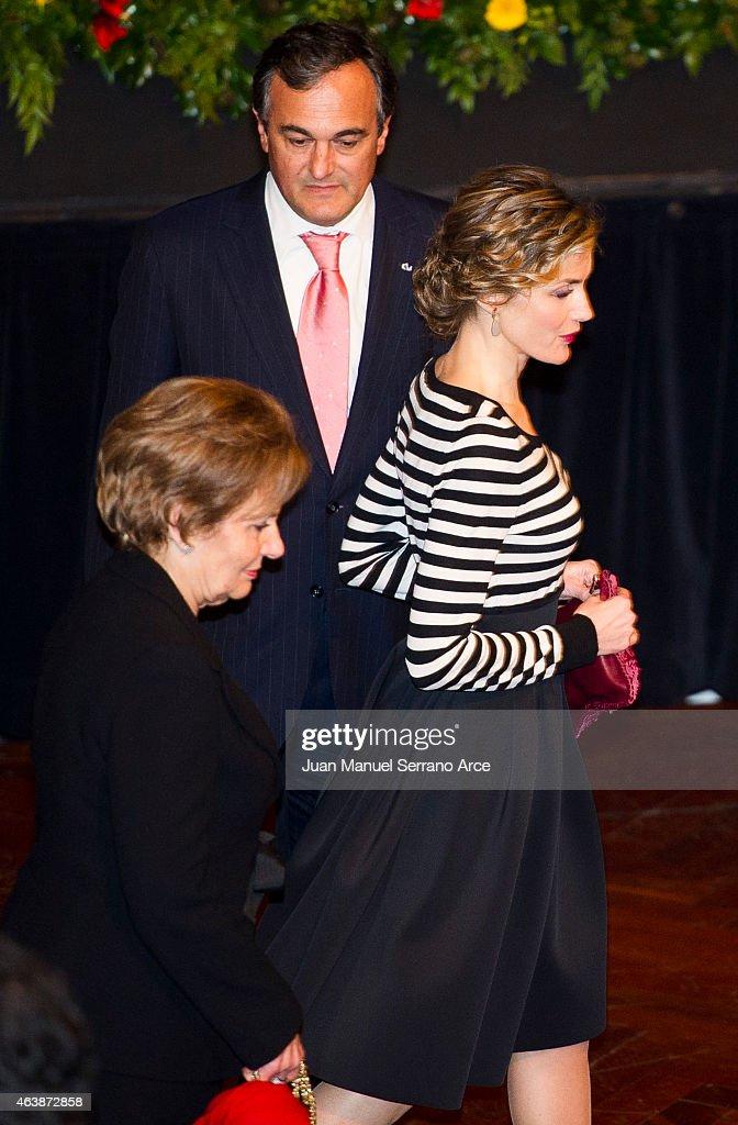 Spanish Royals Visit A Coruna