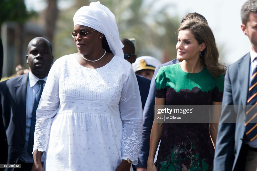 Queen Letizia of Spain Visits Senegal