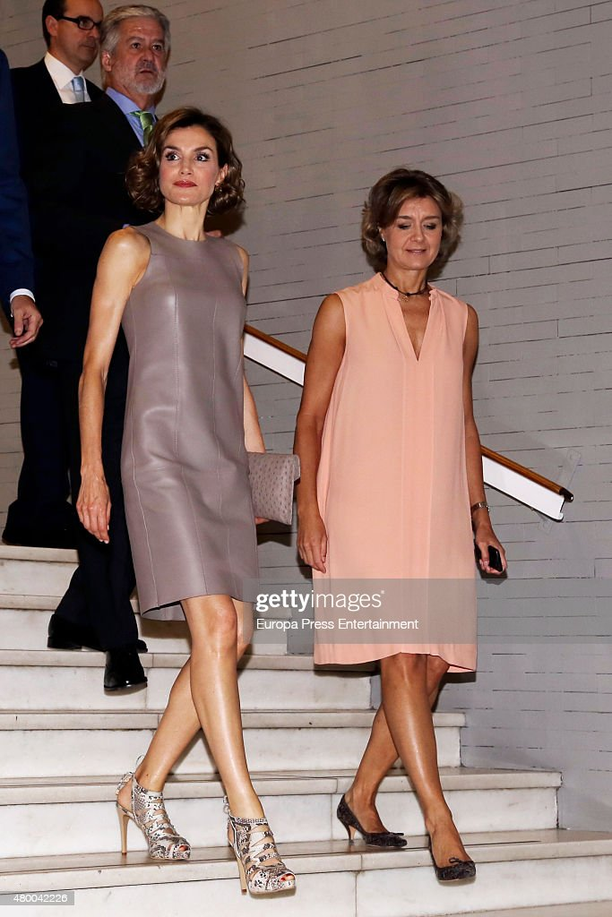 Spanish Royals AttendThe Delivery Of Iberdrola Foundation Scholarships : News Photo