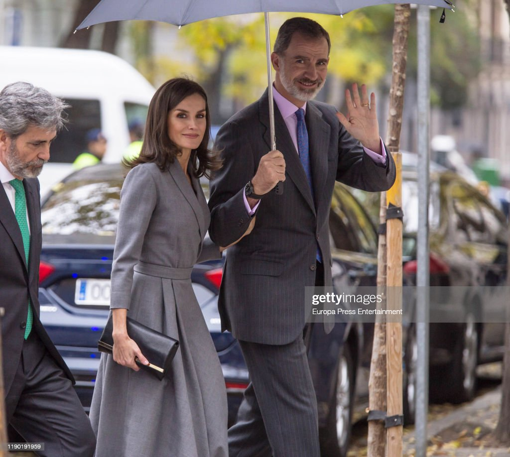 Spanish Royals Leave Observatory Award Against Domestic and Gender Violence 2019 : News Photo