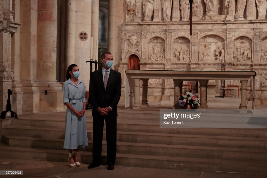 Spanish Royals on Tour - Tarragona : Foto di attualità