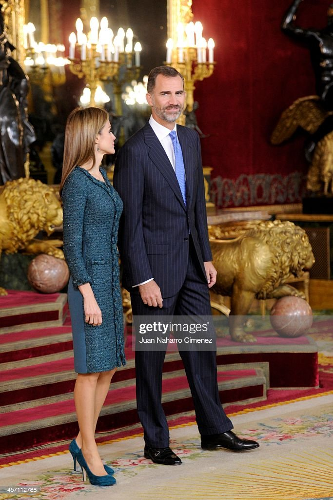 attends Spain's National Day Royal Reception in Madrid : News Photo