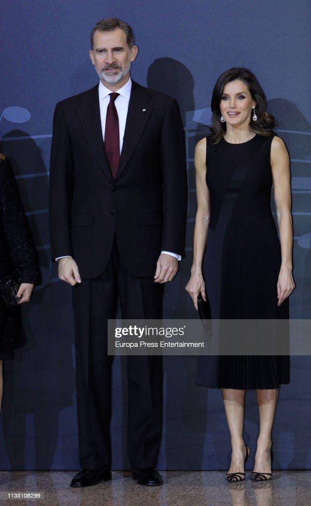 ESP: Spanish Royals Attend 'In Memoriam' Concert