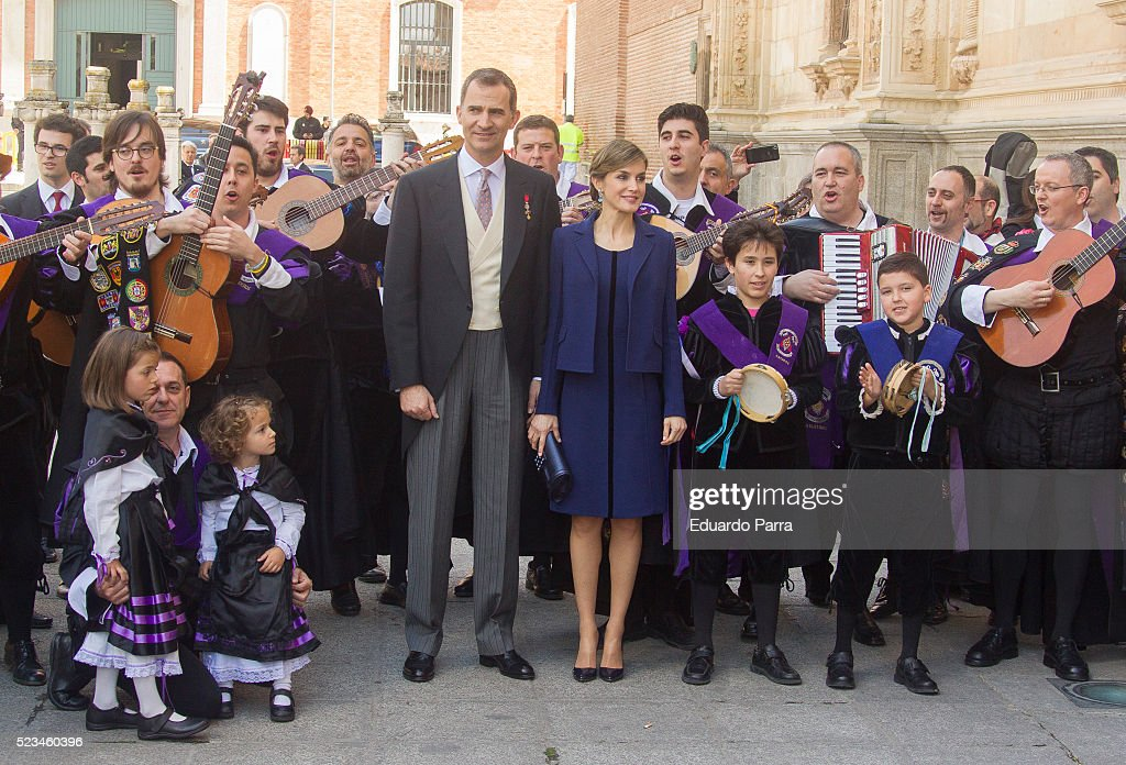 Spanish Royals Attend 'Miguel De Cervantes' 2015 Awards : News Photo