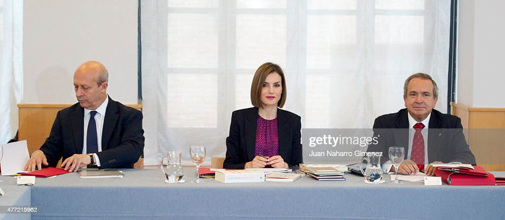 Spanish Royals Visit A Traditional Students Residence : News Photo