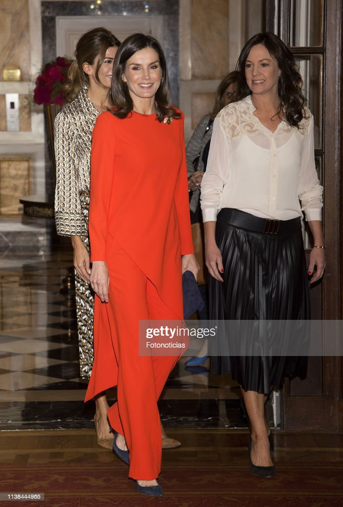 King Felipe II and Queen Letizia Visit Buenos Aires - Day 2 : News Photo