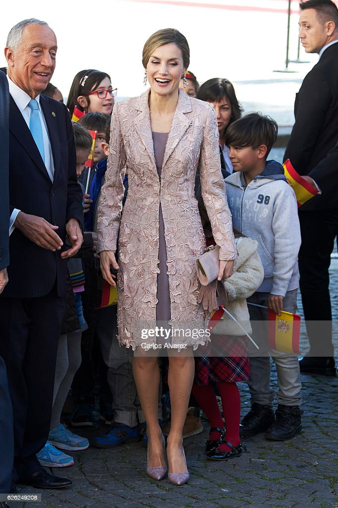 Spanish Royals Visit Portugal - Day 1 : News Photo