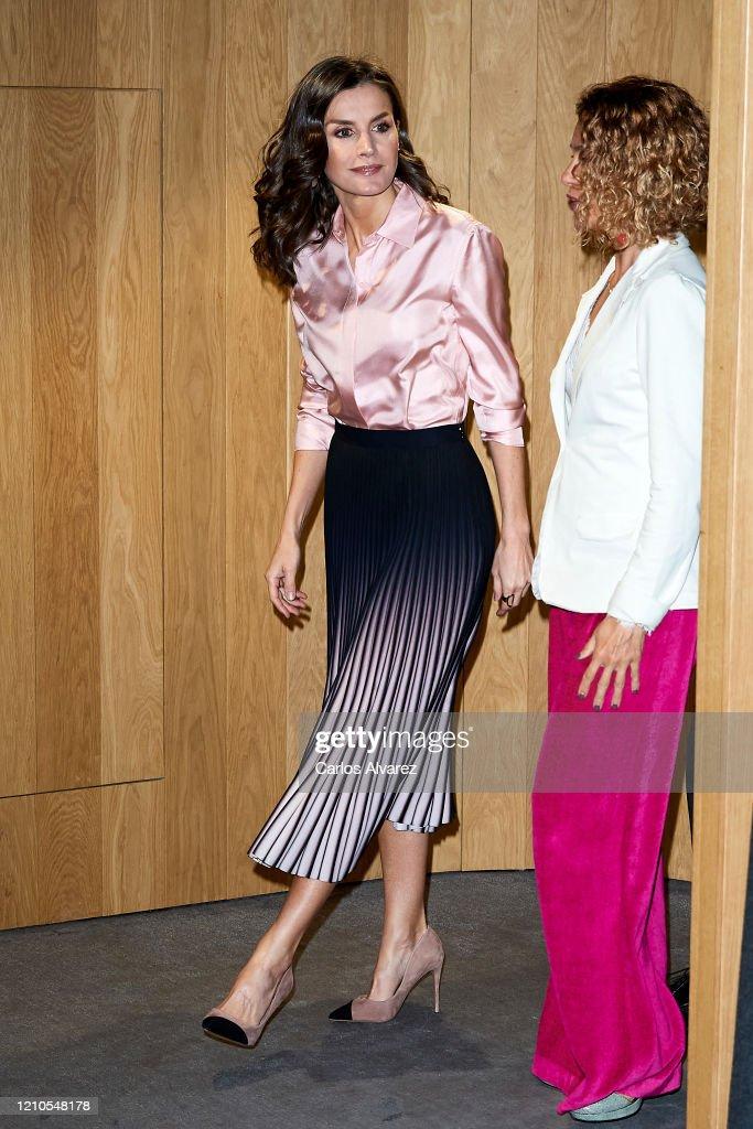 Queen Letizia Attends the Rare Diseases World Day Event : Foto di attualità