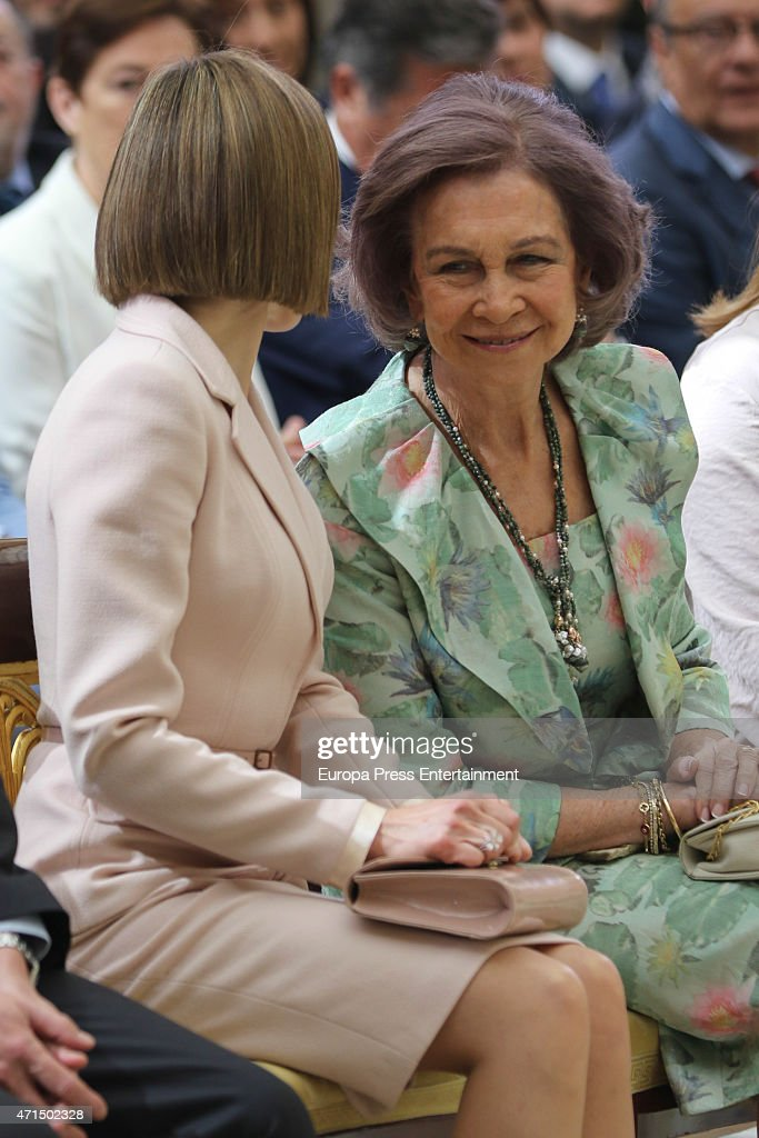 Spanish Royals Attend 'Queen Sofia Awards' : News Photo