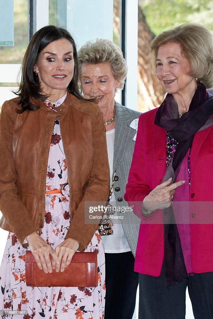 Spanish Royals Attend 'Rastrillo Nuevo Futuro' In Madrid : News Photo