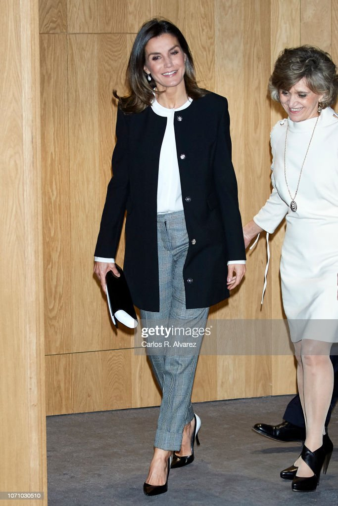 Queen Letizia of Spain Attends 'Integra Awards By BBVA' : News Photo