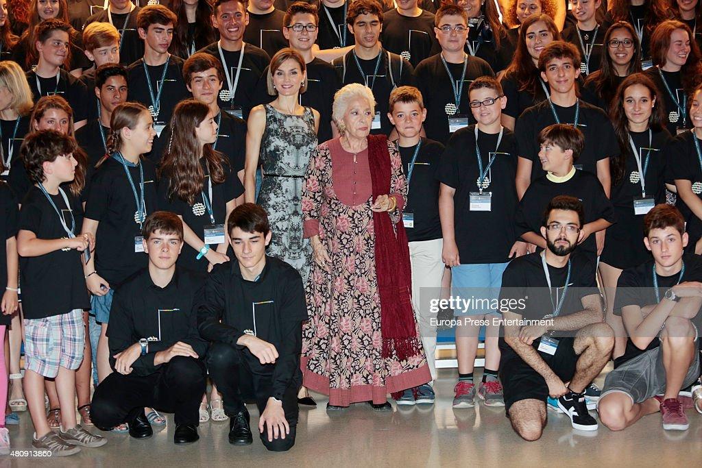 Queen Letizia of Spain Inaugurates The Summer Courses of 'International School of Music' of Princesa de Asturias Foundation : News Photo