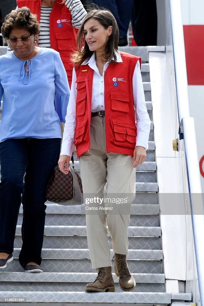 Day 2 - Queen Letizia's Cooperation Trip To Mozambique : News Photo