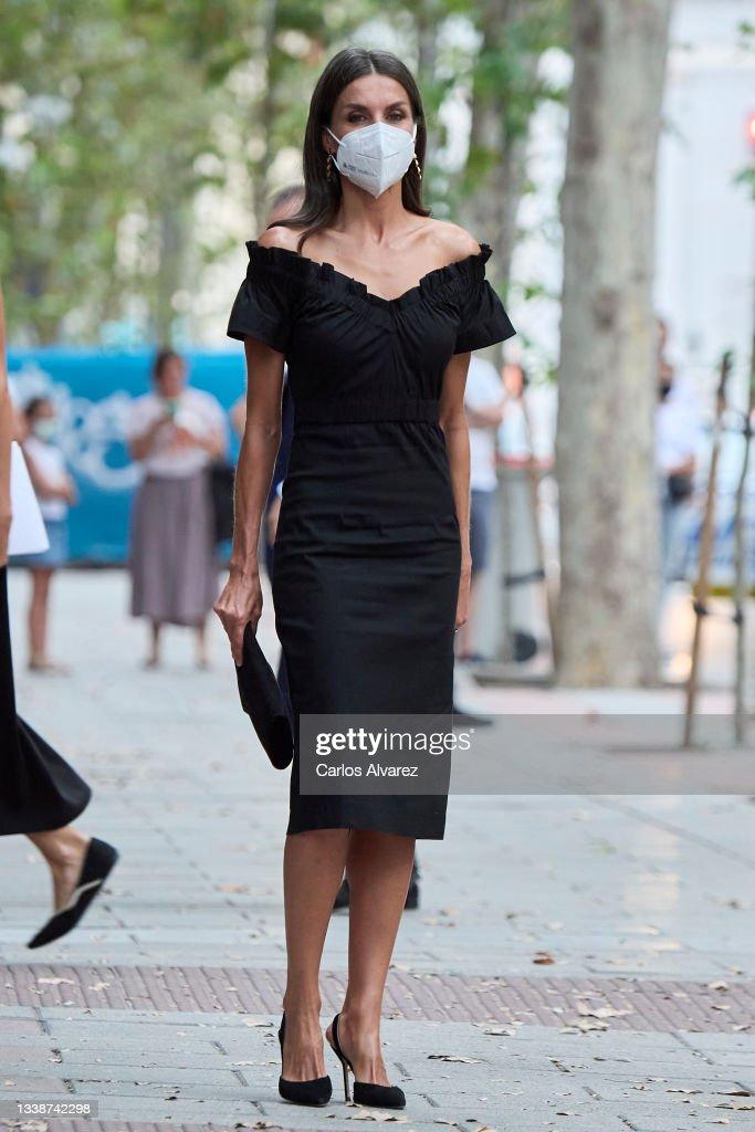 Queen Letizia Arrives At 'Retina Eco' Awards : News Photo
