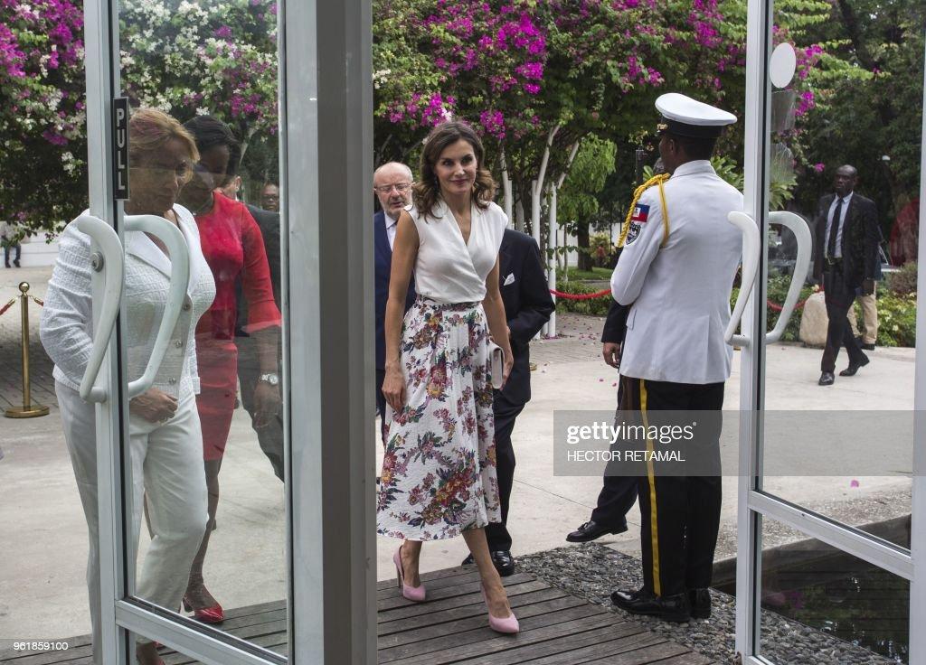 Queen Letizia's Third Cooperation Trip To Dominican Republic And Haiti