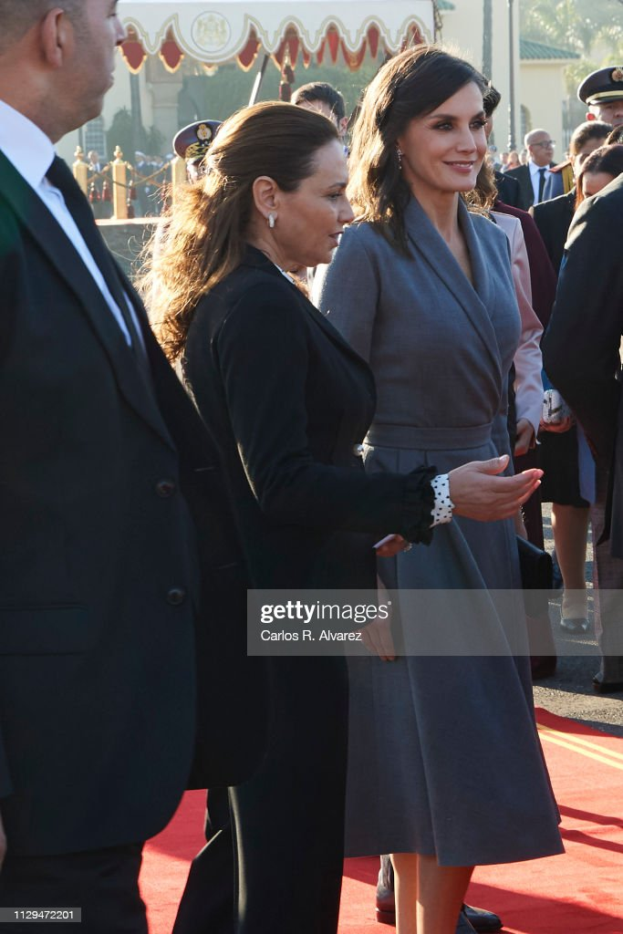 Day 1 - Spanish Royals Visit Morocco : News Photo