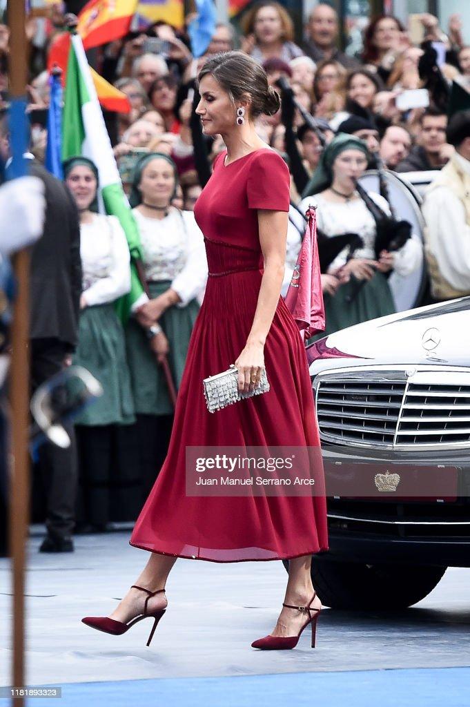 Arrivals - Princess of Asturias Awards 2019 : News Photo