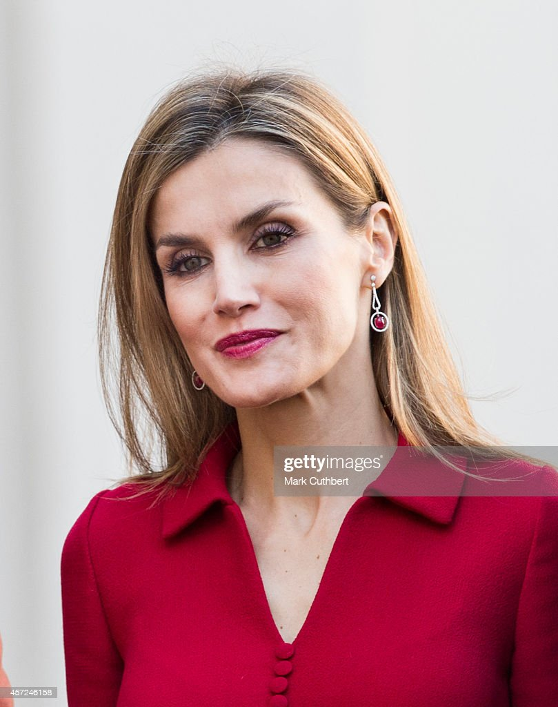 King Felipe And Queen Letizia Of Spain Visit The Netherlands : News Photo