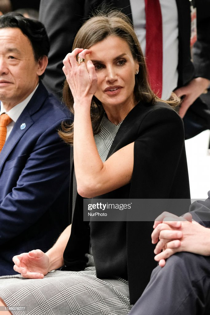Queen Letizia Of Spain At COP25 : News Photo